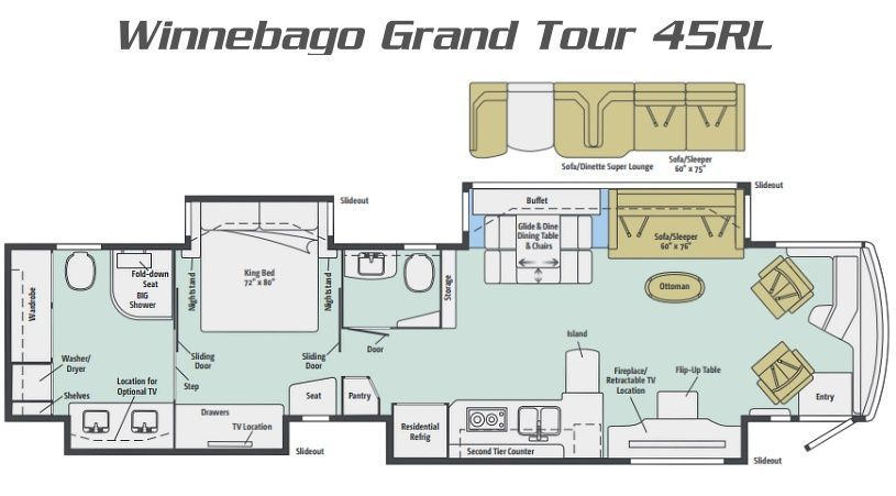 Grand Tour, Winnebago RVs For Sale